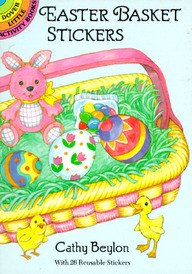 Easter Basket Stickers (Dover Little Activity Books)
