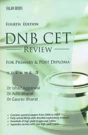 Dnb Cet Review For Primary & Post Diploma Vol 3