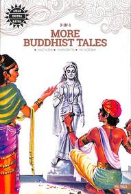3 in 1: More Buddhist Tales (Amar Chitra Katha 3 in 1 Series)