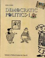 972 Social Science Democratic Politics 1 Text Bookin Political Science for Class 9th - NCERT