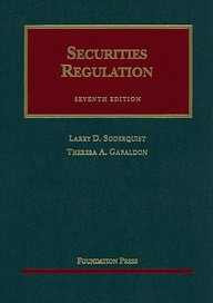 Securities Regulation, 7th (University Casebook Series)
