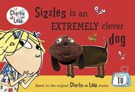 Sizzles Is An Extremely Clever Dog Finger Puppet Book