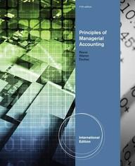 Principles Of Managerial Accounting
