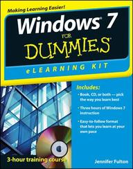 Windows 7 Elearning Kit For Dummies