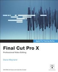 Apple Pro Training Series: Final Cut Pro X