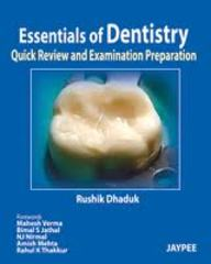 Essentials Of Dentistry:quick Review And Examination Preparation,2012
