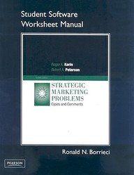 Student Workbook For Strategic Marketing Problems: Cases And Comments With Cd-Rom