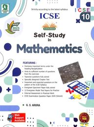 Evergreen ICSE Self-Study in Mathematics (Class-10)