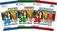 36 Years IIT-JEE Advanced + 12 yrs JEE Main Topic-wise Solved Paper (PCM): Set of 3 Books