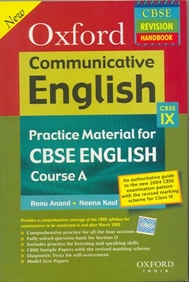 Communicative English - Practice Material For Cbse English Course A Class Ix