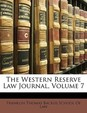 The Western Reserve Law Journal, Volume 7