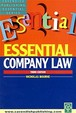 Essentials On Company Law / Edition 3