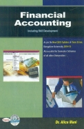 Financial Accounting For 1st Sem Bcom Bu - Including Skill Development