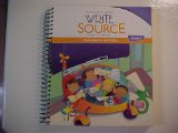 Write Source Writing Grammar Grade 1 Teacher's Edition Houghton Mifflin Harcourt ISBN 9780547484327