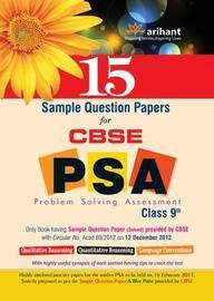 CBSE PSA for Class 9th 15 Sample Question Papers