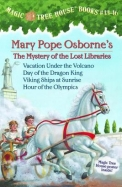 Magic Tree House Boxed Set, Books 13-16: Vacation Under The Volcano, Day Of The Dragon King, Viking Ships At Sunrise, And Hour O