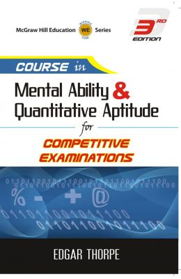 Course in Mental Ability and Quantitive Aptitude