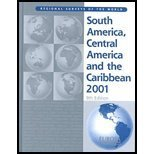 South America, Central America And The Caribbean 2001 (Europa's Regional Surveys Of The World)