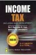 Income Tax for 5 Sem Bcom - BU